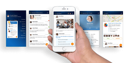 Employee Engagement & HR Mobile Application