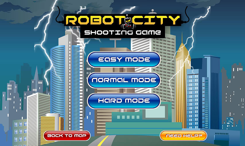 Robot City Game