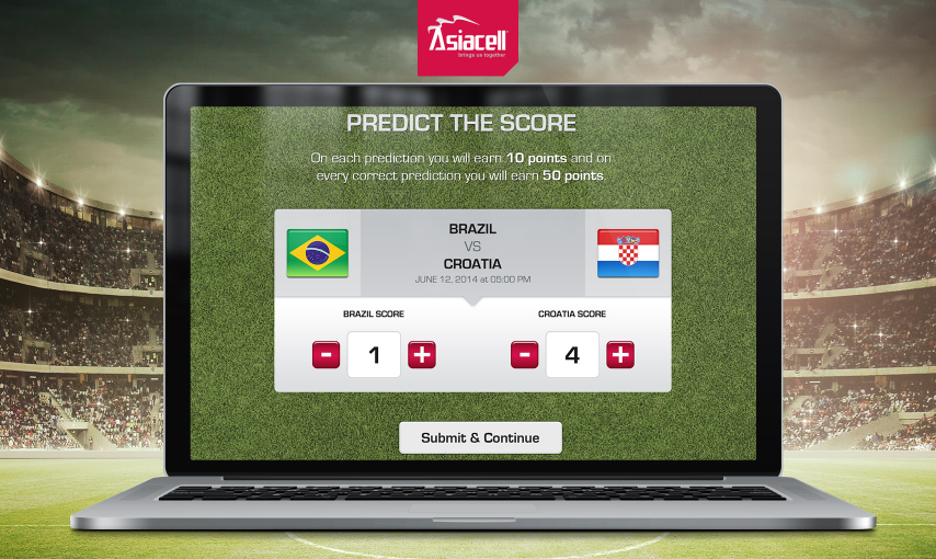 Football score predictor
