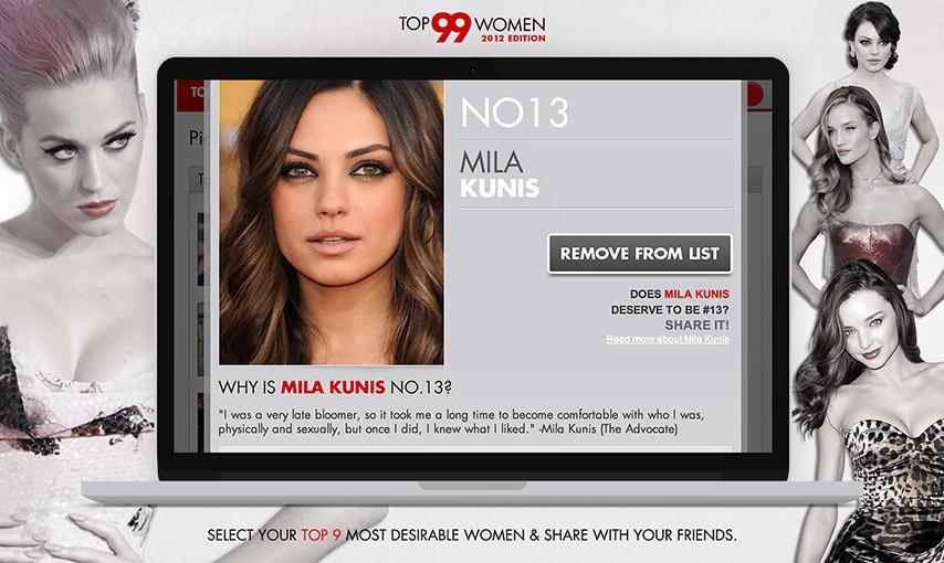 Top 99 Women Facebook App