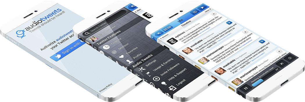 Audiotweets App