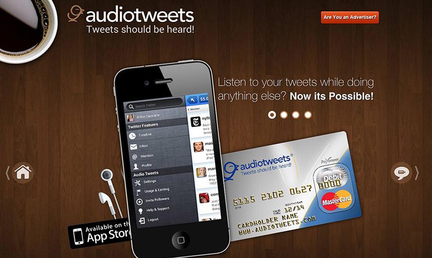 AudioTweets Iphone App