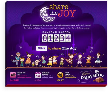 Cadbury Facebook App