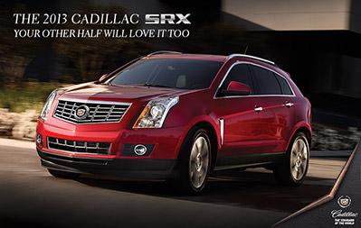 Cadillac SRX Ad Generator