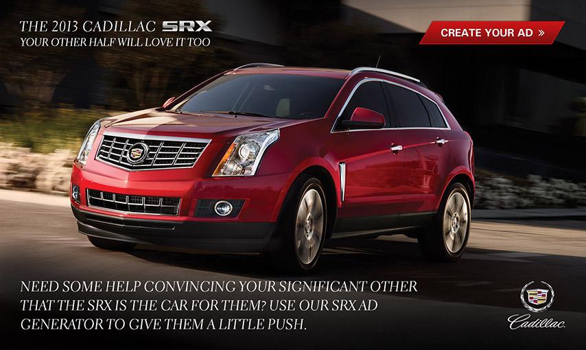 Cadillac Facebook App