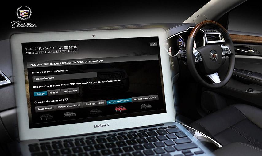 Cadillac Facebook Campaign