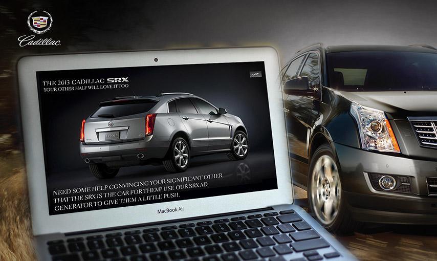 Cadillac SRX Ad