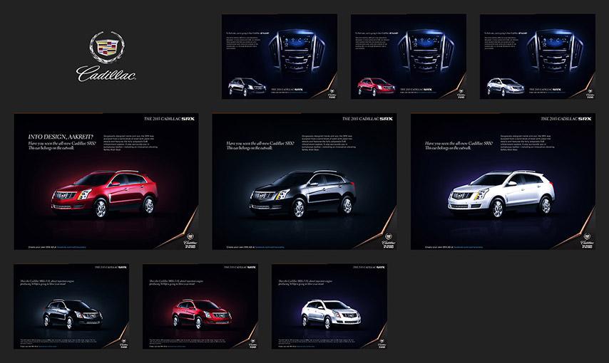 Cadillac FB Page App