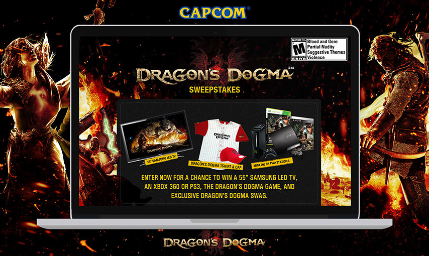Capcom Sweepstakes App