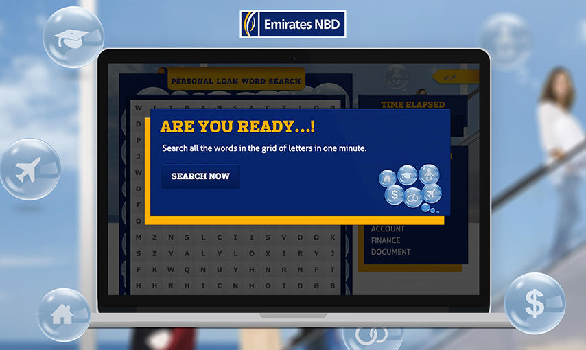Emirates NBD Word Search