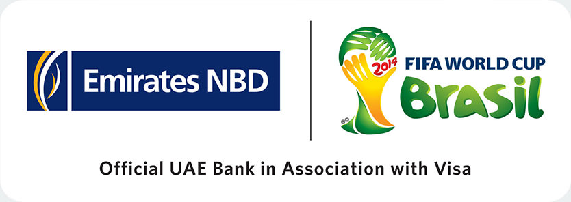 Emirates NBD and Fifa World cup 2014