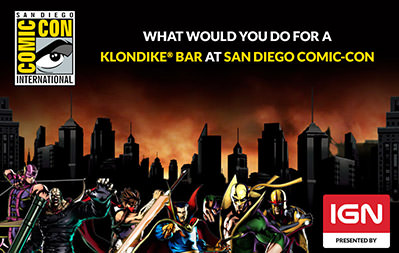 IGN - Comic-Con Klondike Bar