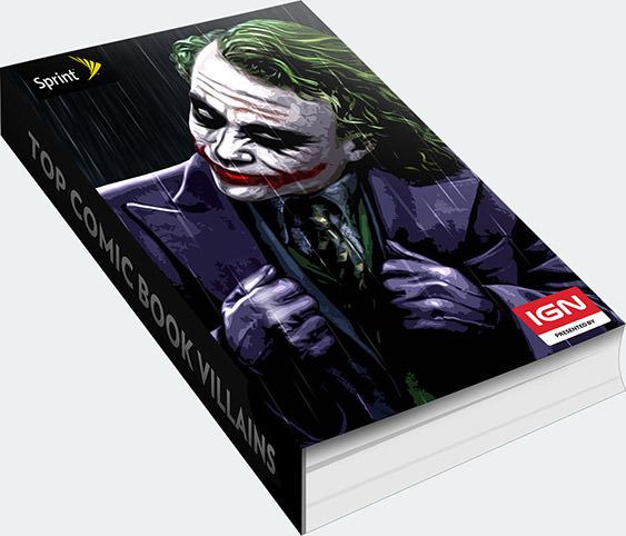 Top Villains Book