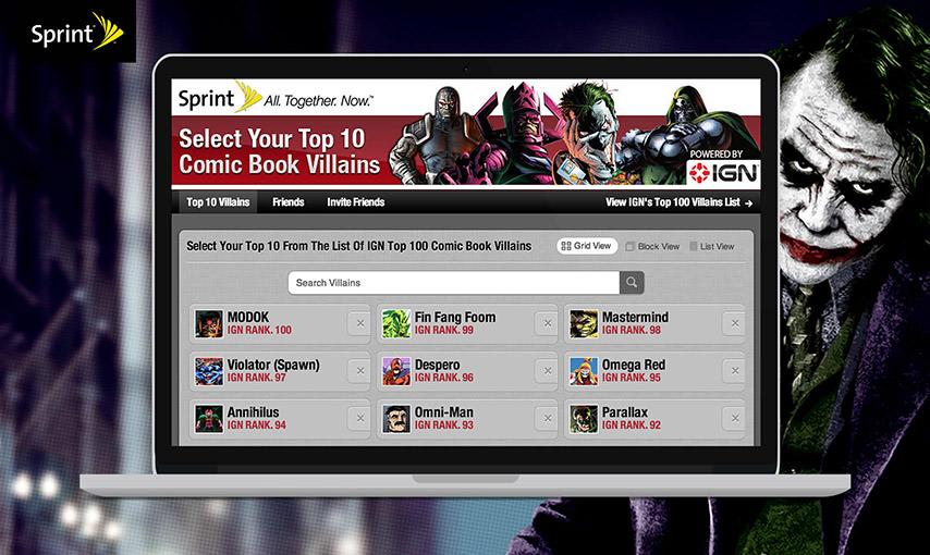 Top Villains FB App