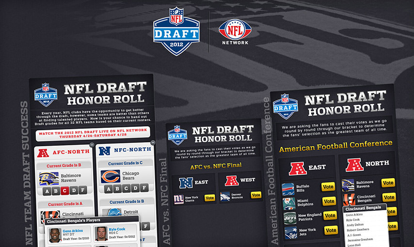 NFL Draft Application