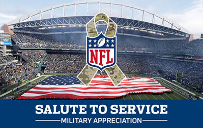 NFL Gifting - Salute to Service