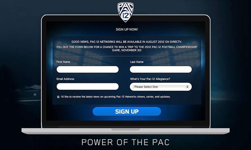 Pac-12 App