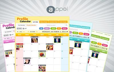Appoi Profile Calendar