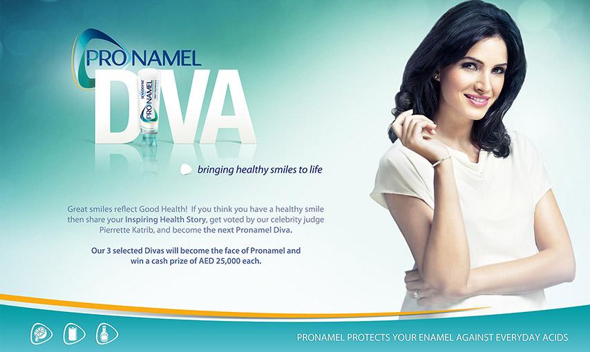 Pronamel Diva App