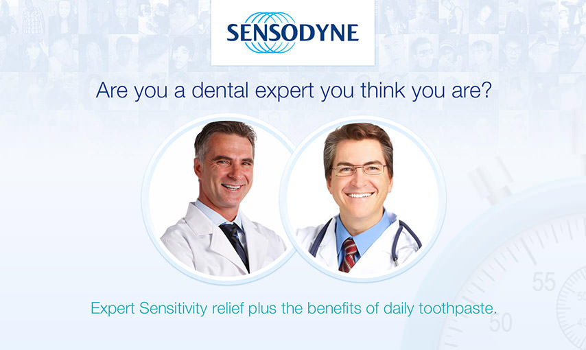 Sensodyne - Barriers Quiz