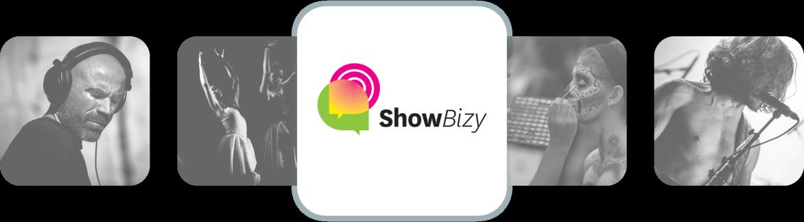 Showbizy Web App