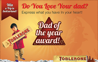 Toblerone - Dad of the Year