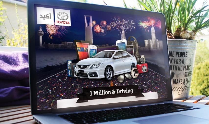 Toyota Facebook App