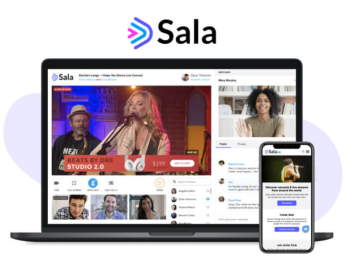 Sala.live! Livestream Concerts Platform