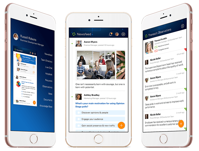 HR & Employee Engagement App