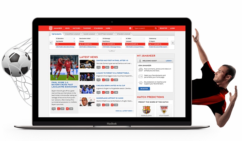 Jamaheer Sports Portal
