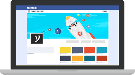 custom facebook page app