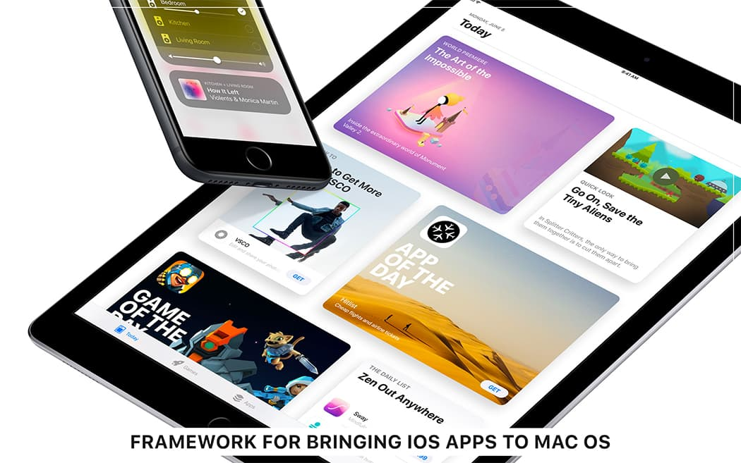 Framework for bringing iOS apps to Mac OS
