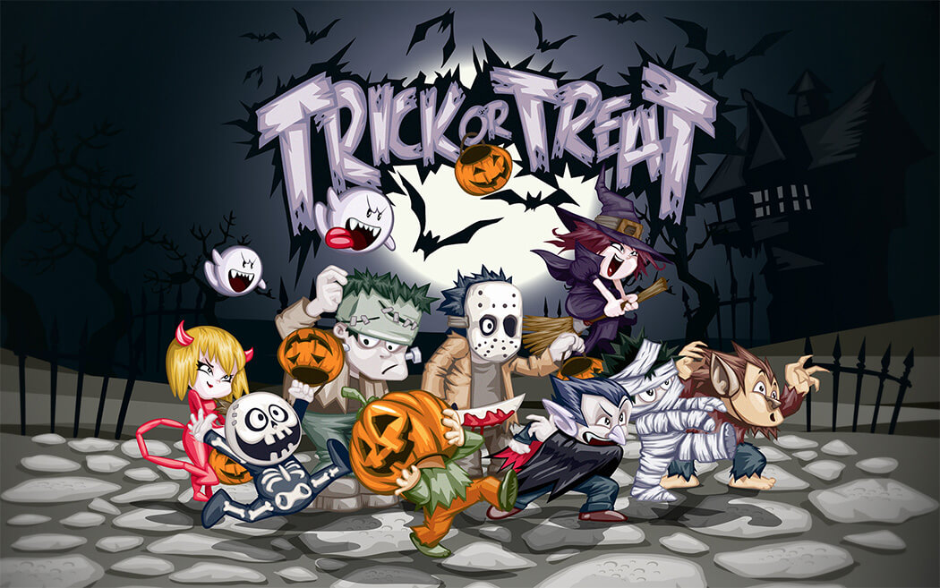 Application ideas for Halloween