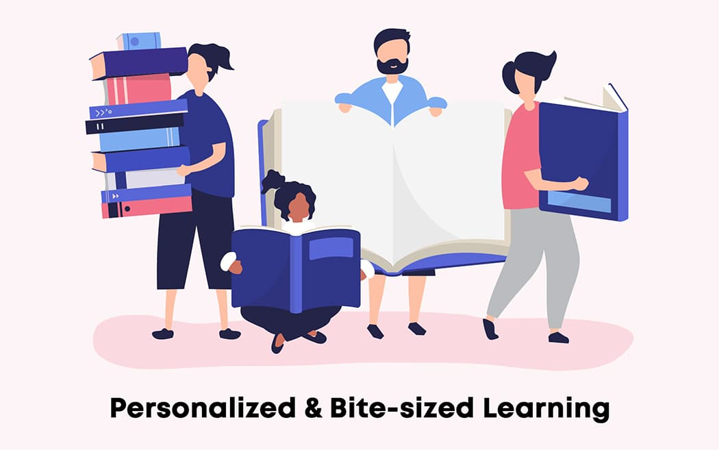 Personalized Bite-sized Learning