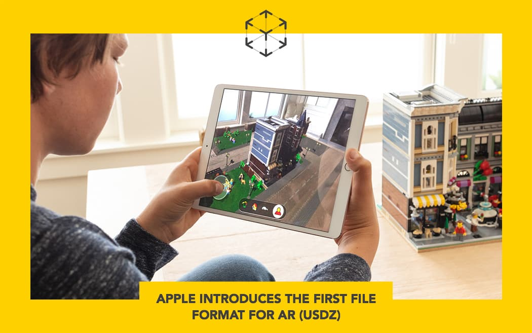 Apple introduces the first file format for AR (usdz)