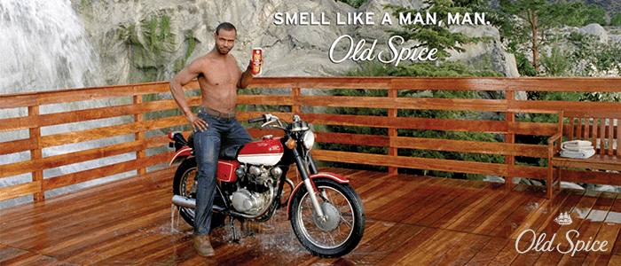 Old Spice Real-Time Videos