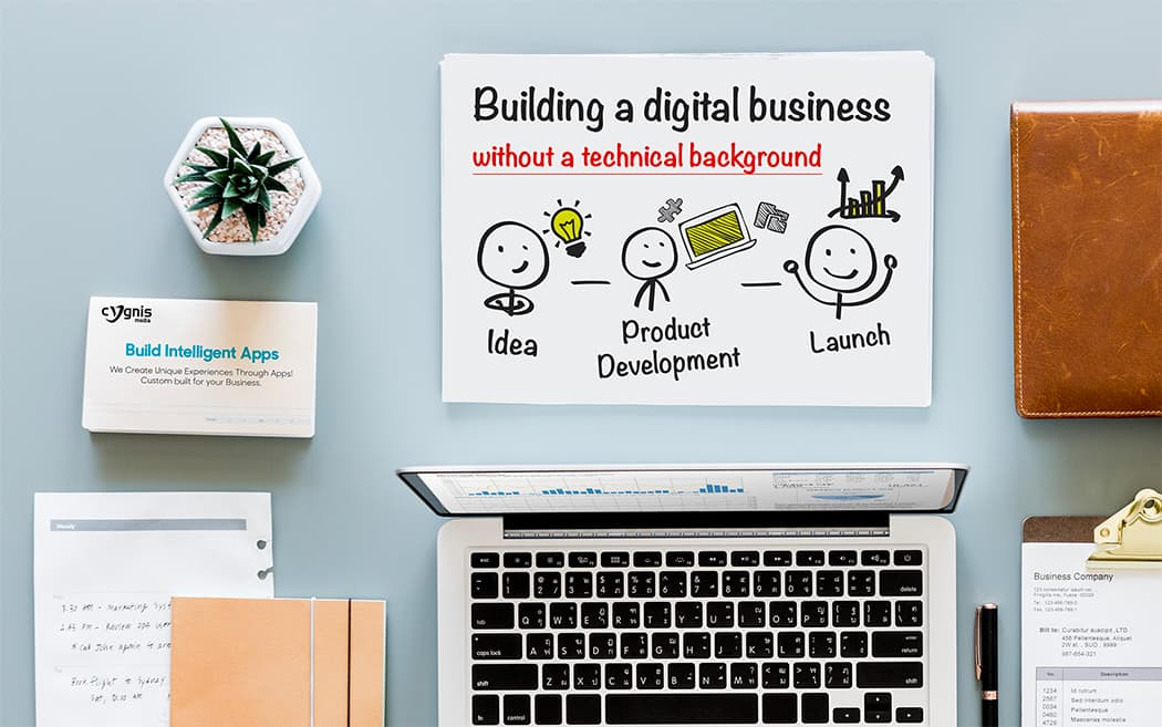 Building a Digital Business Without a Technical Background
