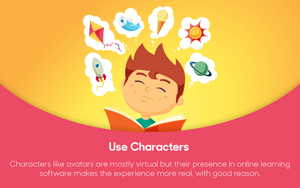 Characters in Elearning