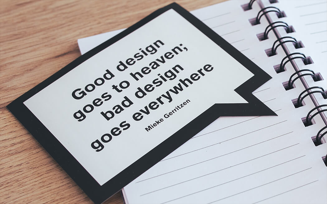 Good designs goes to heaven