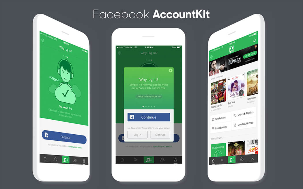 Facebook Launches Account Kit for App Developers