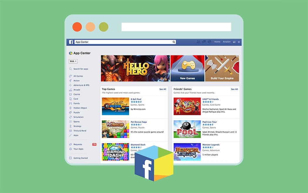 Facebook Introducing the App Center &laquo