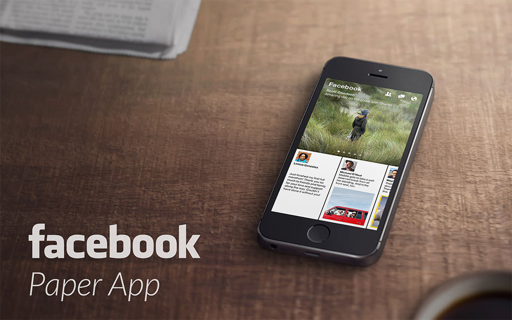 Facebook paper app, Facebook approach to innovation and creativity