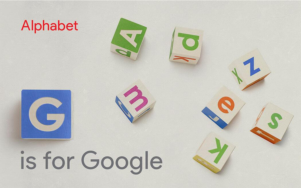 Google is now an Alphabet