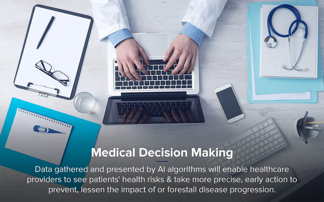 decision making in healthcare using AI