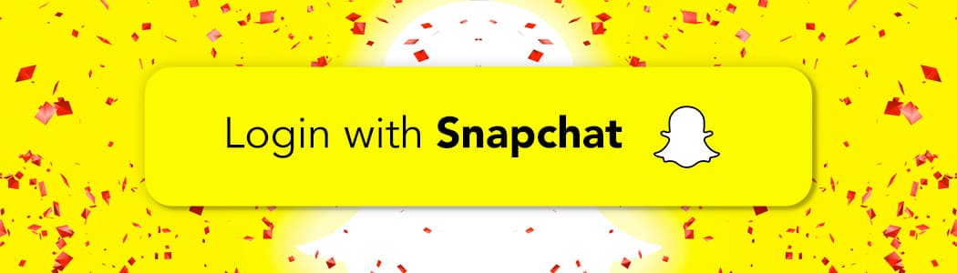 Login with snapchat