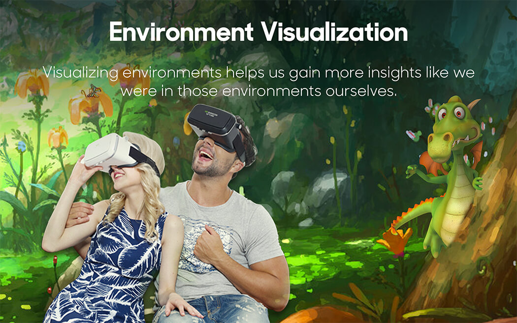 Virtual Reality Environment Visualization