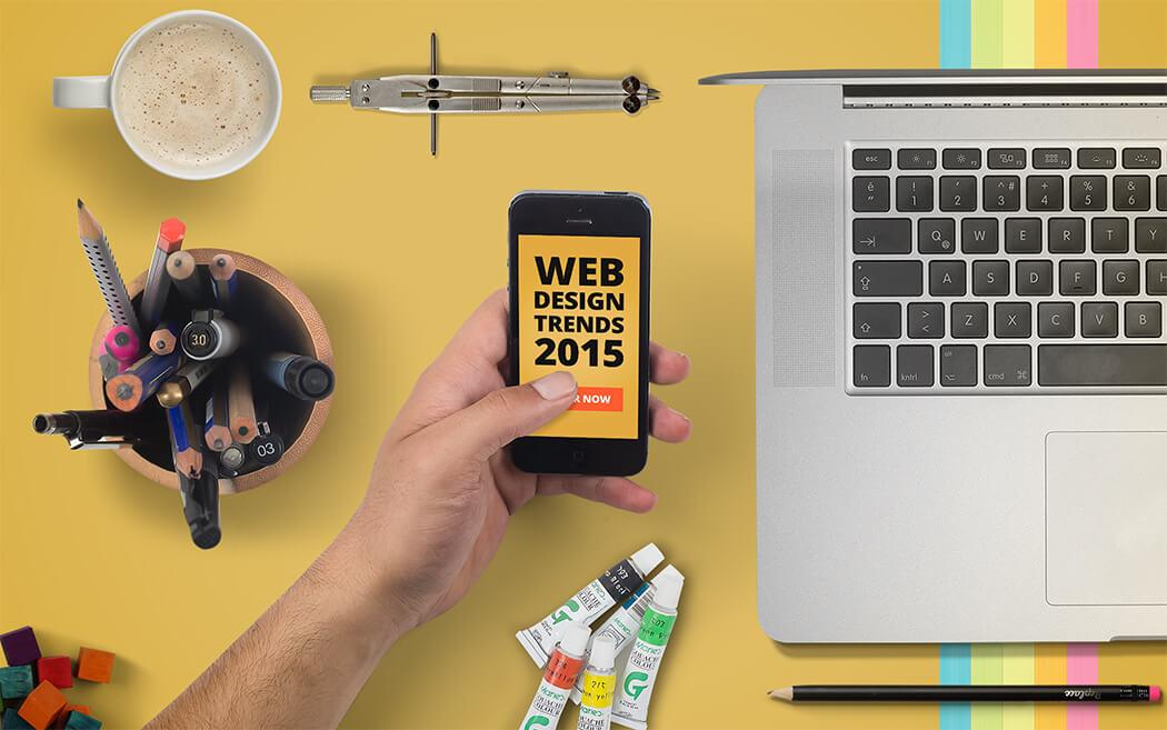 Web Design Trends In 2015
