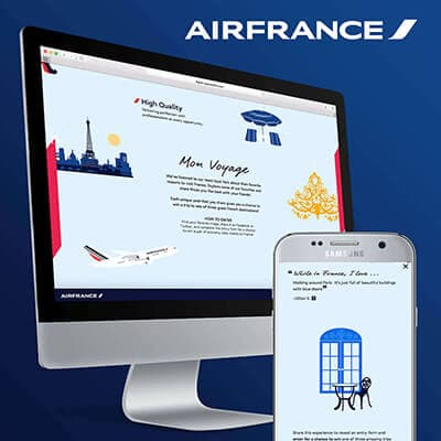 Airfrance Microsite