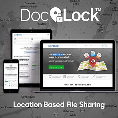 Doclock, Location Based File Sharing