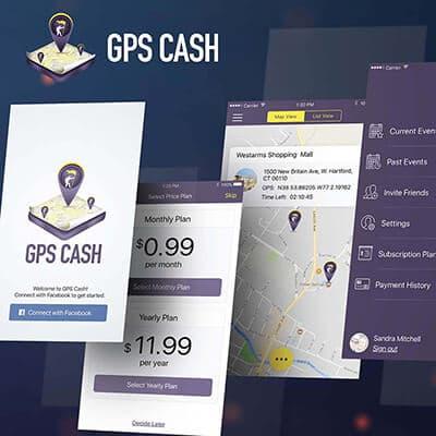GPS Cash iOS Application